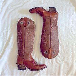 Vintage Alberta Boot Factory Cowboy Boots